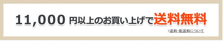 11,000円以上で送料無料!